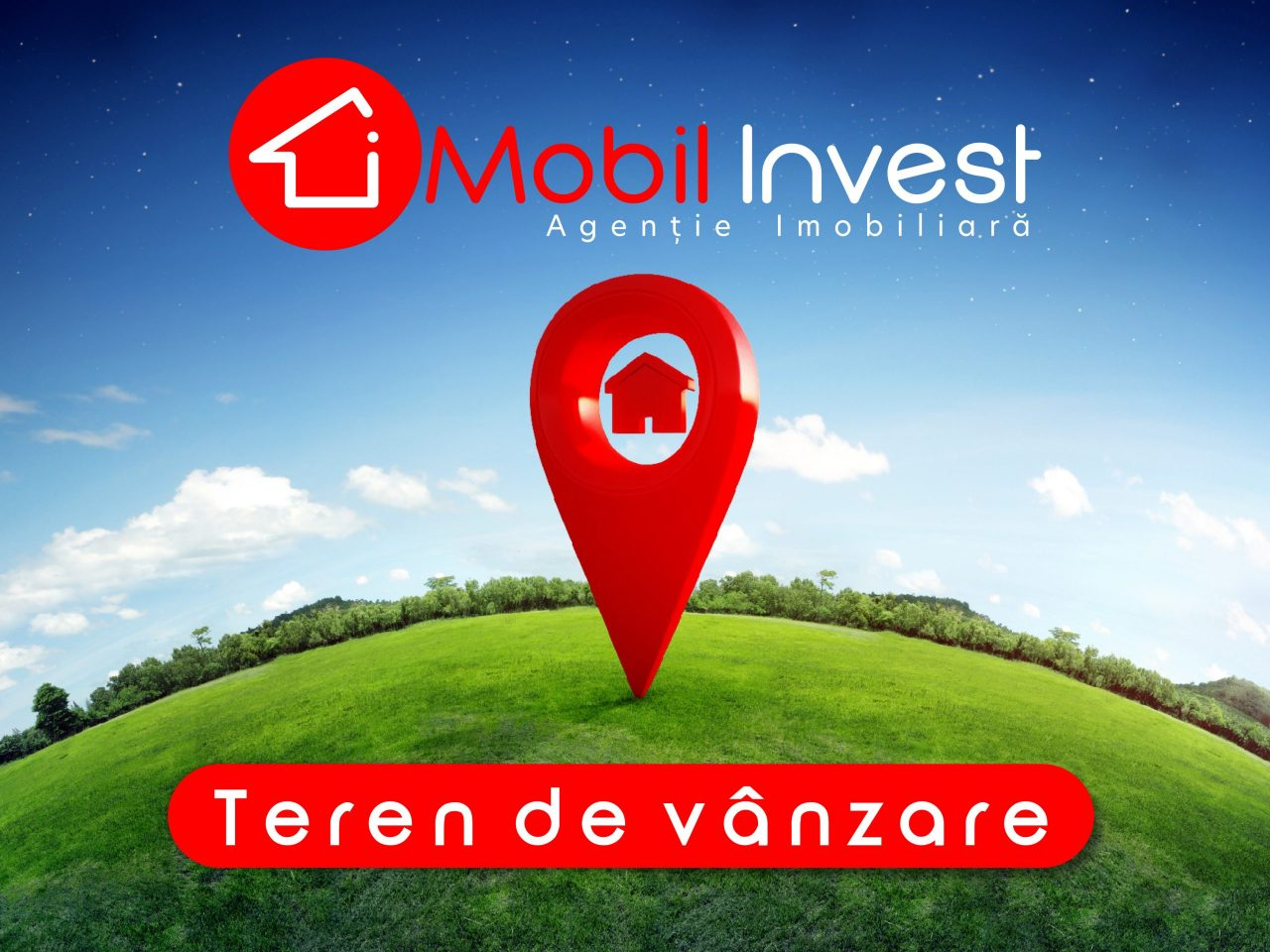 Teren ideal pentru dezvoltatorii imobiliari !!